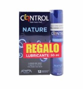 CONTROL NATURE + PLEASURE GEL PRESERVATIVOS +LUB