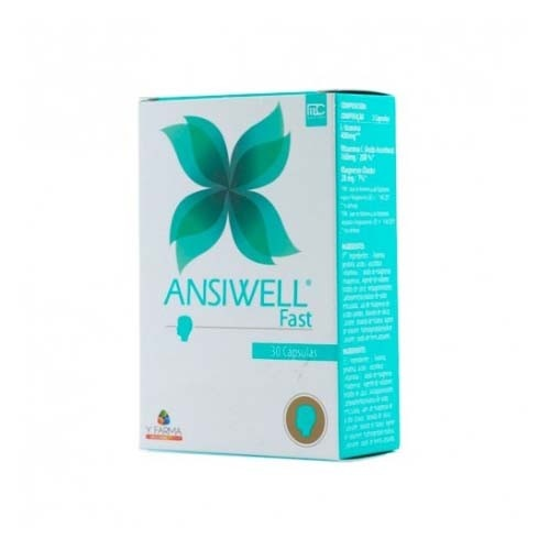 Ansiwell fast (30 comprimidos)